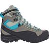 Salomon X Alp Mountain GTX Hiking Shoes Women Shadow/Castor Gray/Enamel Blue